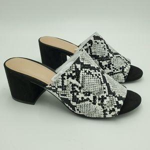 Kelly & Katie Snake Print Sandals